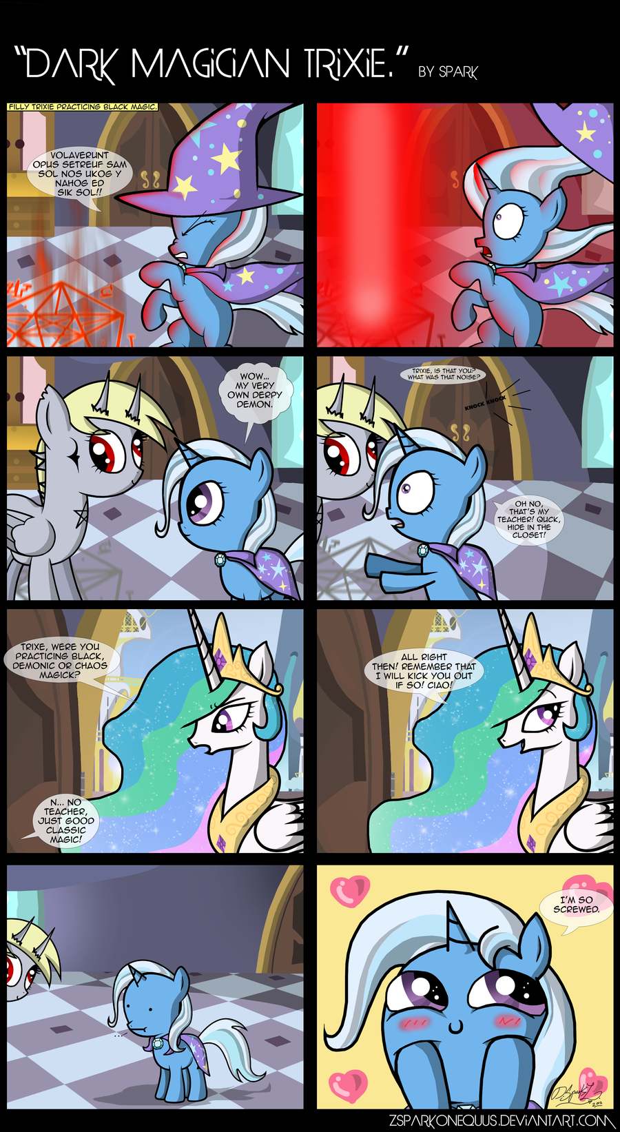 .Comic 29: Dark Magician Trixie.