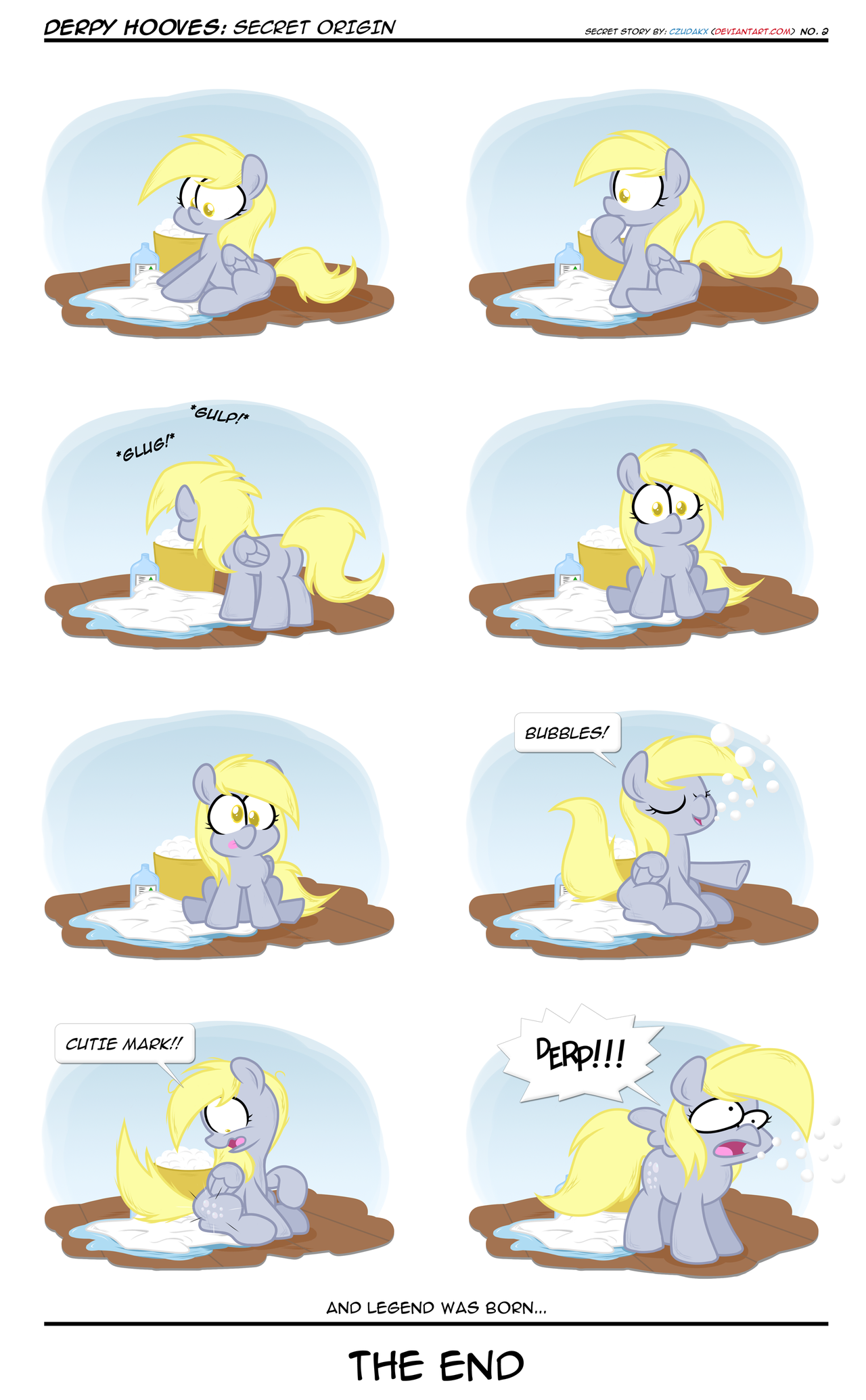 Derpy Hooves - Secret Origin