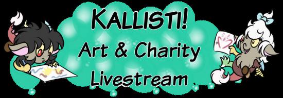 Kallisti! Art and Charity Livestream
