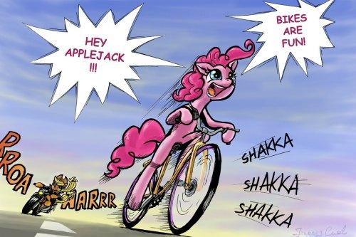 Biker Pinkie Pieby *JourneyCurl
