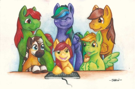 Legends of Equestria at Galacon by Pa-Hsia