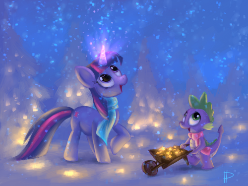 So many sparkles by ~Rom-Art