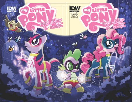 My Little Pony #3 Jetpack and Larry's Variants