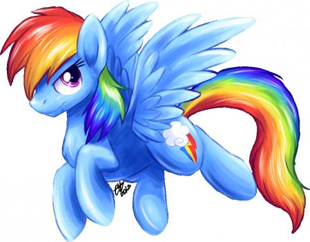 Supersonic Pony. by BritishStarr