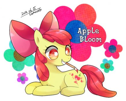 Apple Bloom, Angel by Remoko