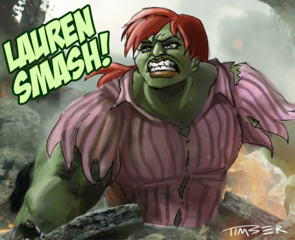 Hulking out by PluckyNinja