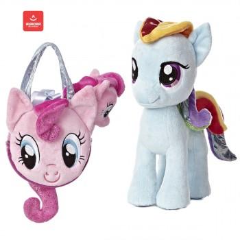 Aurora - MLP - Pinkie Pie and Rainbow Dash w logo