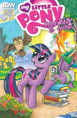 My Little Pony: Friendship is Magic Issue #1 Cover