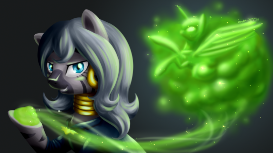 The Evil Enchantress by RenateThePony