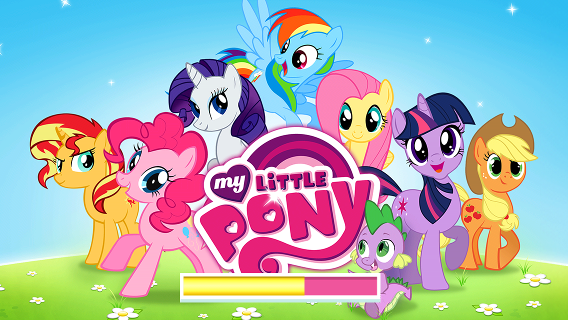 New Gameloft My Little Pony Game Splash/Loading Screen