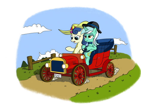 Lyra's fancy wheels by Corina93