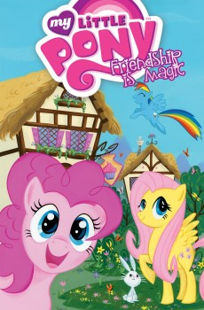 My Little Pony Digest Vol. 1 cover by Stephanie Buscema