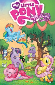 My Little Pony Friendship Is Magic Vol. 1 cover by Amanda Connor and Paul Mounts