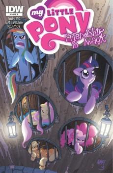 Issue #7 cover RI by Tony Fleecs