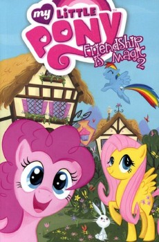 My Little Pony Digest Vol. 2 cover by Stephanie Buscema