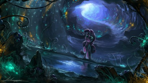 MLP - Mirror Pond by Huussii
