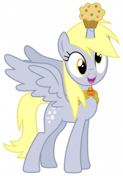 The right kind of derp ! - Derpy the Muffins Princess by FloppyChiptunes