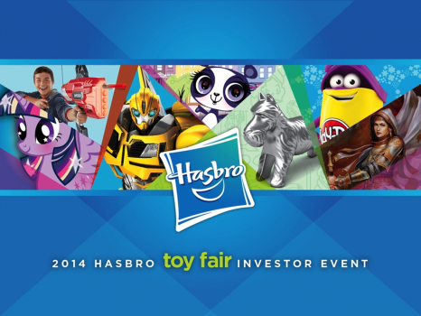 Hasbro NYC Toy Fair Presentation