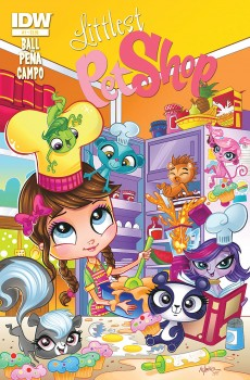 LPS issue #1 by Nico Peña