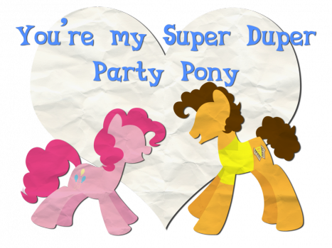 Pinkie Pie-Cheese Valentines by Left2Fail
