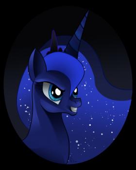 Princess Luna Portrait by Menorquin