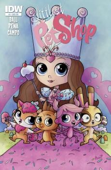 Littlest Pet Shop #3 Subscription Cover by Agnes Garbowska