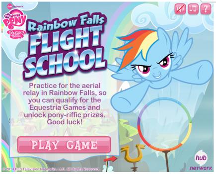 rainbow falls flight school