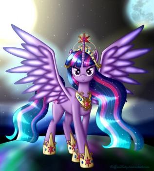 Princess Twilight Sparkle by LeffenKitty