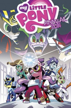 My Little Pony 2014 Annual cover by Ben Bates