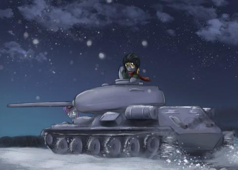 Ponies Und Panzer by Ardail