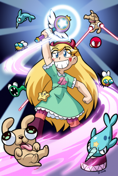 Star Butterfly by rongs1234