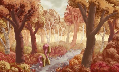 Autumn Stroll by MoreVespenegas