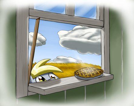 window pie by otakuap